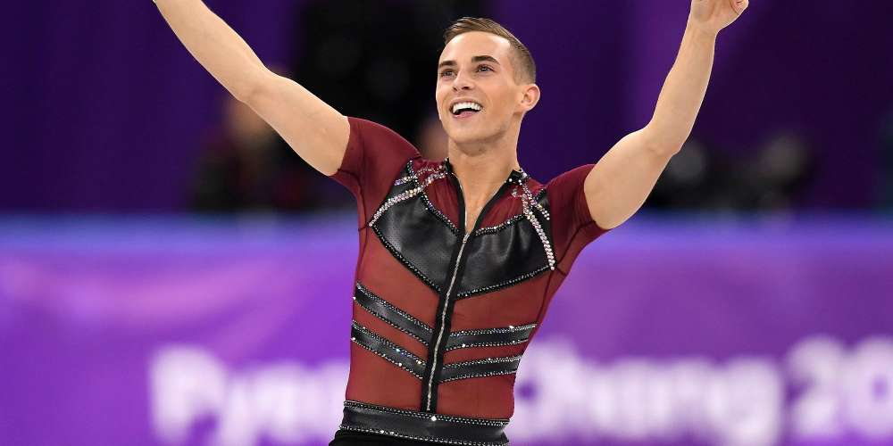 Johnny Weir Allegedly 'Threw a Fit' Over Adam Rippon, Who's Busy Texting Sally Field's Son