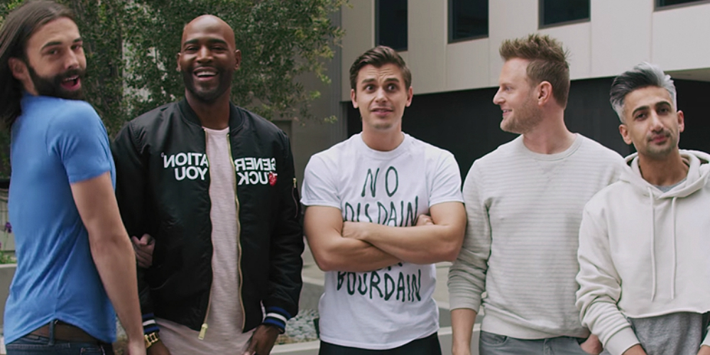 Ran Out of 'Queer Eye' Episodes? Watch the Fab 5 Make Over These Netflix Nerds