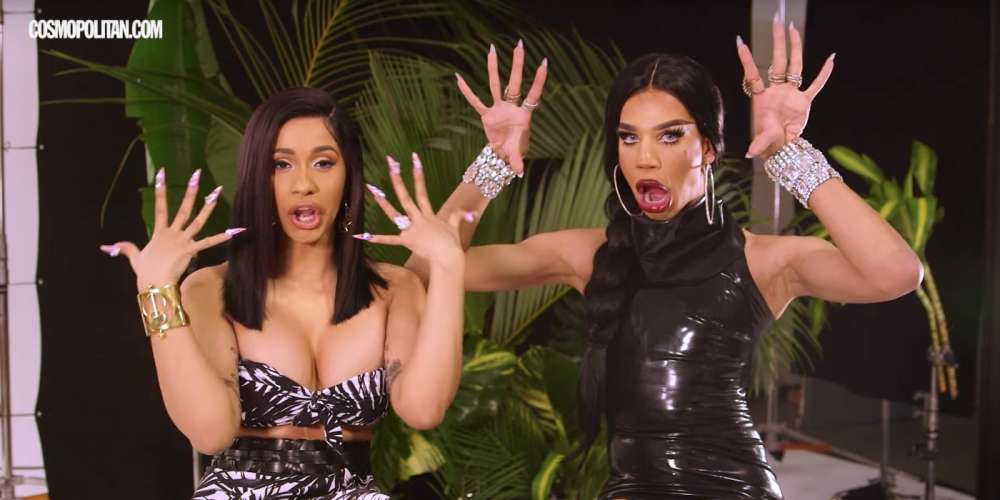 'Drag Race' Standout Naomi Smalls Talks Fighting and F*cking with Cardi B for 'Cosmo' (Video)