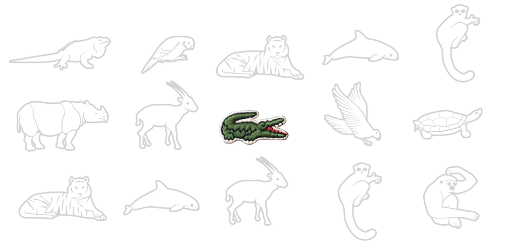 Lacoste Removed Its Iconic Crocodile for This Limited-Edition Set of Endangered Species Polos
