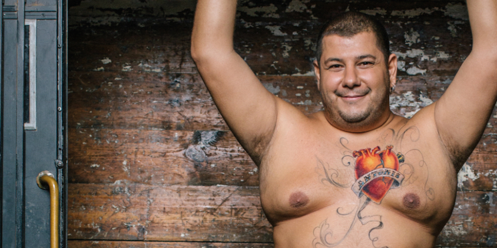 11 European Men Stripped Down and Painted Their Bods for This New HIV Awareness Campaign