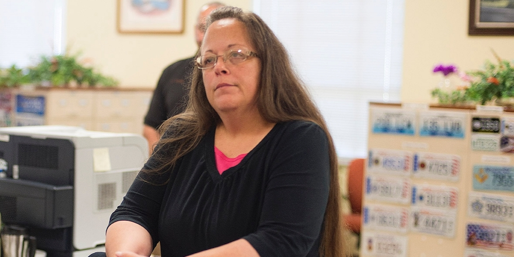 Don't Be Dumb at Brunch: Kim Davis Won't Go Away, but Marriage Might in Six States