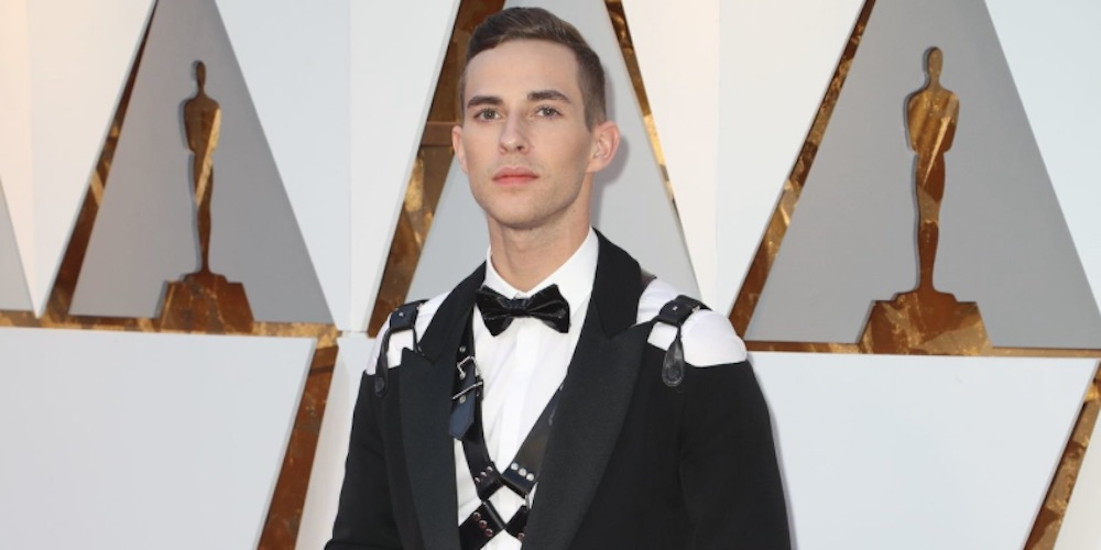How Cute! The BBC Thought Adam Rippon's Oscars Harness Was 'A Nod to the Fifty Shades Franchise'