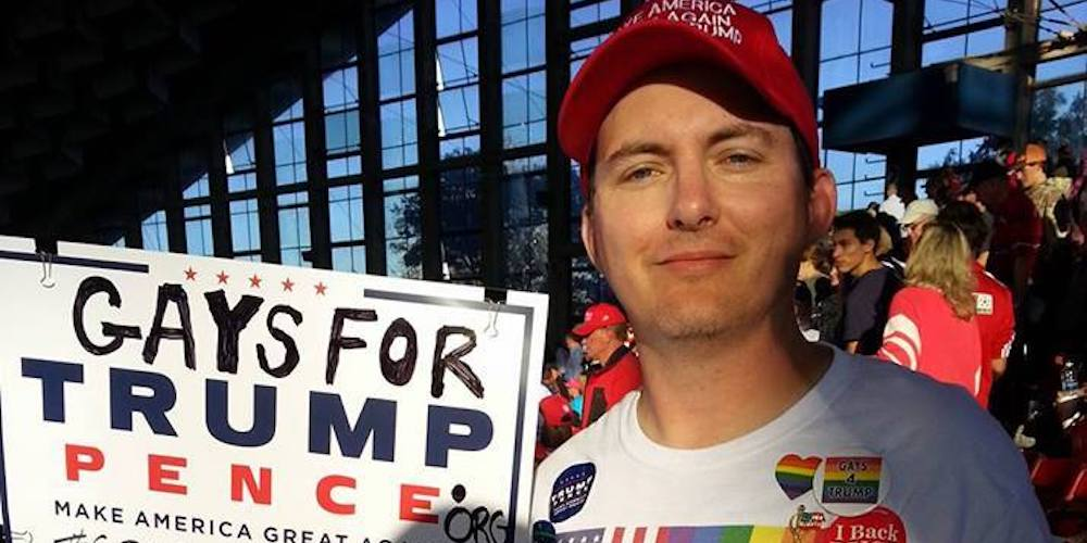 The Gay March4Trump Had Barely 100 Attendees, 25 Marchers and 0 Mentions of Anti-LGBT Policies