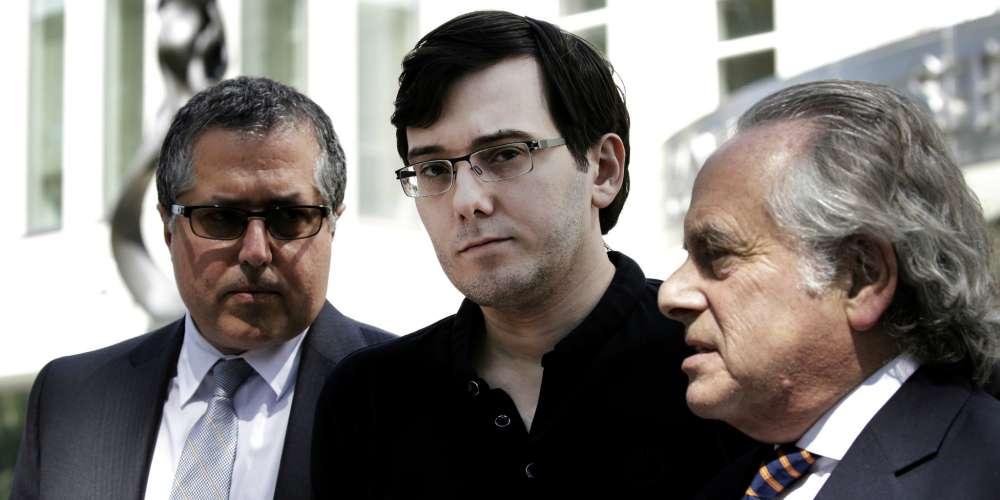 'Pharma Bro' Martin Shkreli Broke Down in Court as He Was Sentenced to 7 Years in Prison