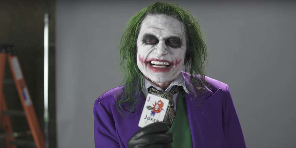 'The Room' Star Tommy Wiseau's Joker Audition Video Will Have You Laughing in Terror