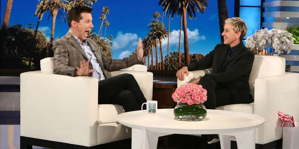 This Ellen DeGeneres and Sean Hayes Interview Is the Shadiest Thing You'll Watch Today