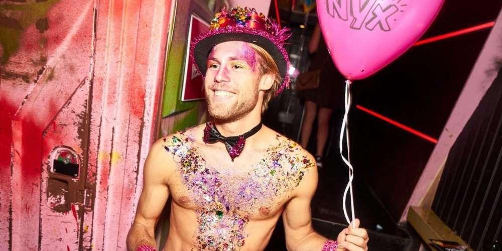A Gay Trek Through Europe, Night 4: NYX Is Amsterdam's Hot Saturday Night Gay Club