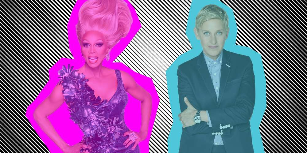 Watch RuPaul and Ellen Judge These Straight Men as They Try to Lip Sync for Their Wives