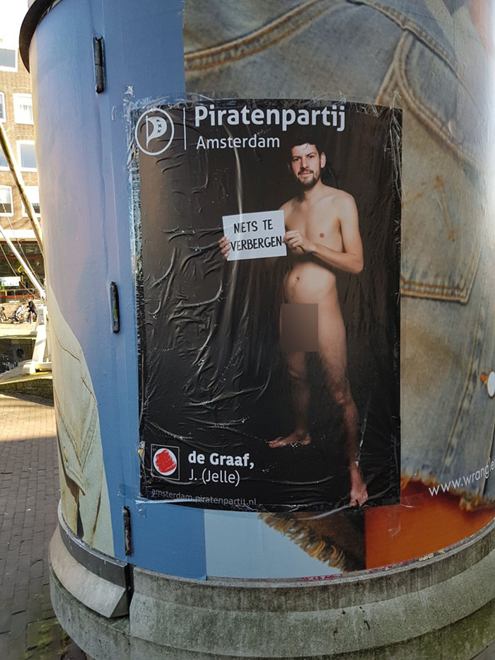 dutch pirate party full poster jelle de graaf