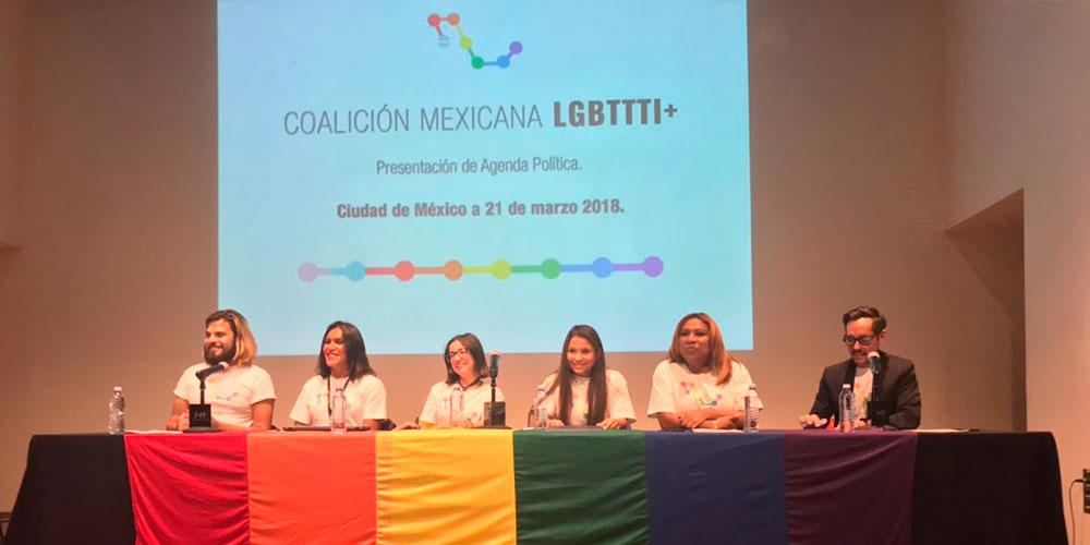 La Coalición Mexicana LGBTTTI+ Presenta su Agenda Política Dirigida a los Partidos Políticos