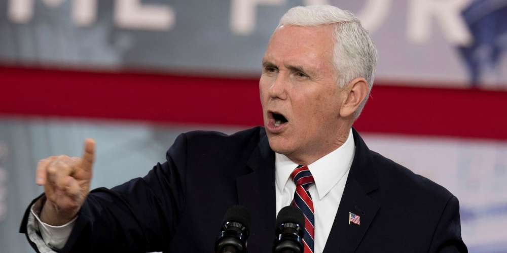 Homophobic VP Mike Pence Is 'Proud' of His Hometown's First Pride Parade, But We'd Rather He STFU