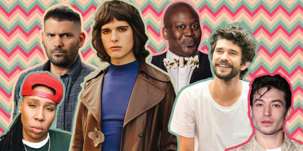Descubre en Qué Están Trabajando Este Año Nuestros 10 Actores LGBTQ Favoritos