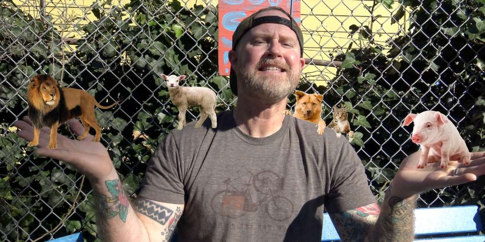 This Guy Has Decided to Put Down His Phone and Become an Animal Activist
