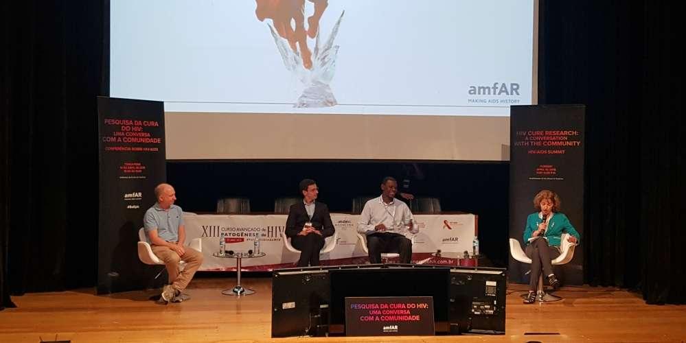 amFAR realiza conversa sobre cura do HIV com a comunidade