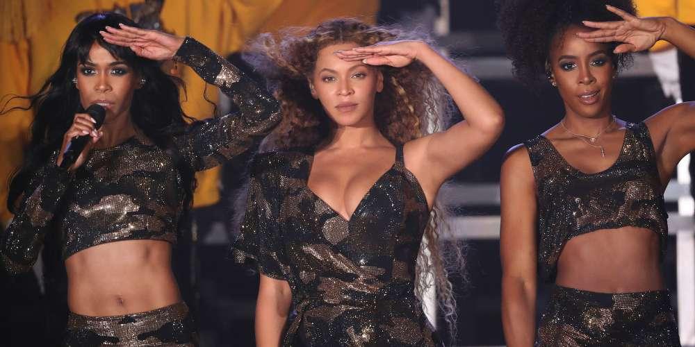 Watch Destiny's Child Reunite During Beyoncé's Coachella Performance