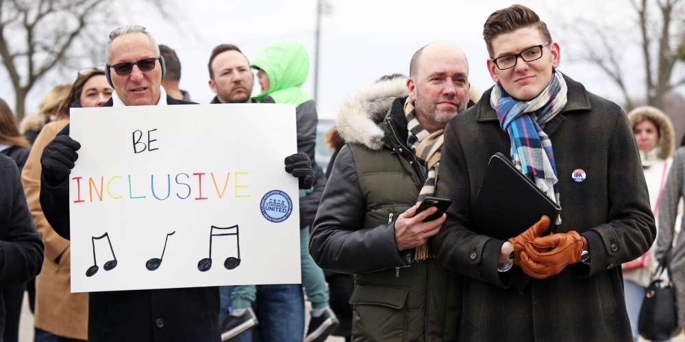 Parents and Students Have Rallied Behind a Gay Teacher Told Not to Talk About His Husband