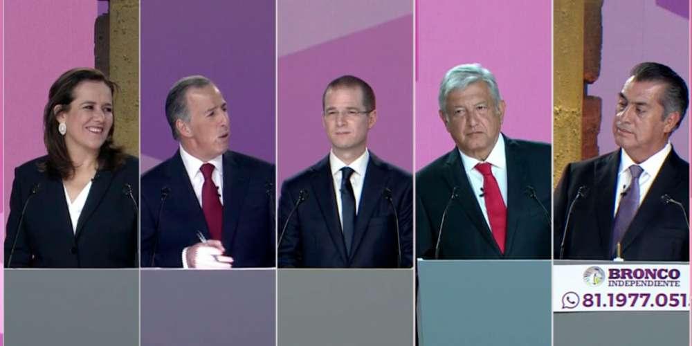 Esta Fue la Postura en Temas LGBT de los Candidatos en el Primer Debate Presidencial 2018
