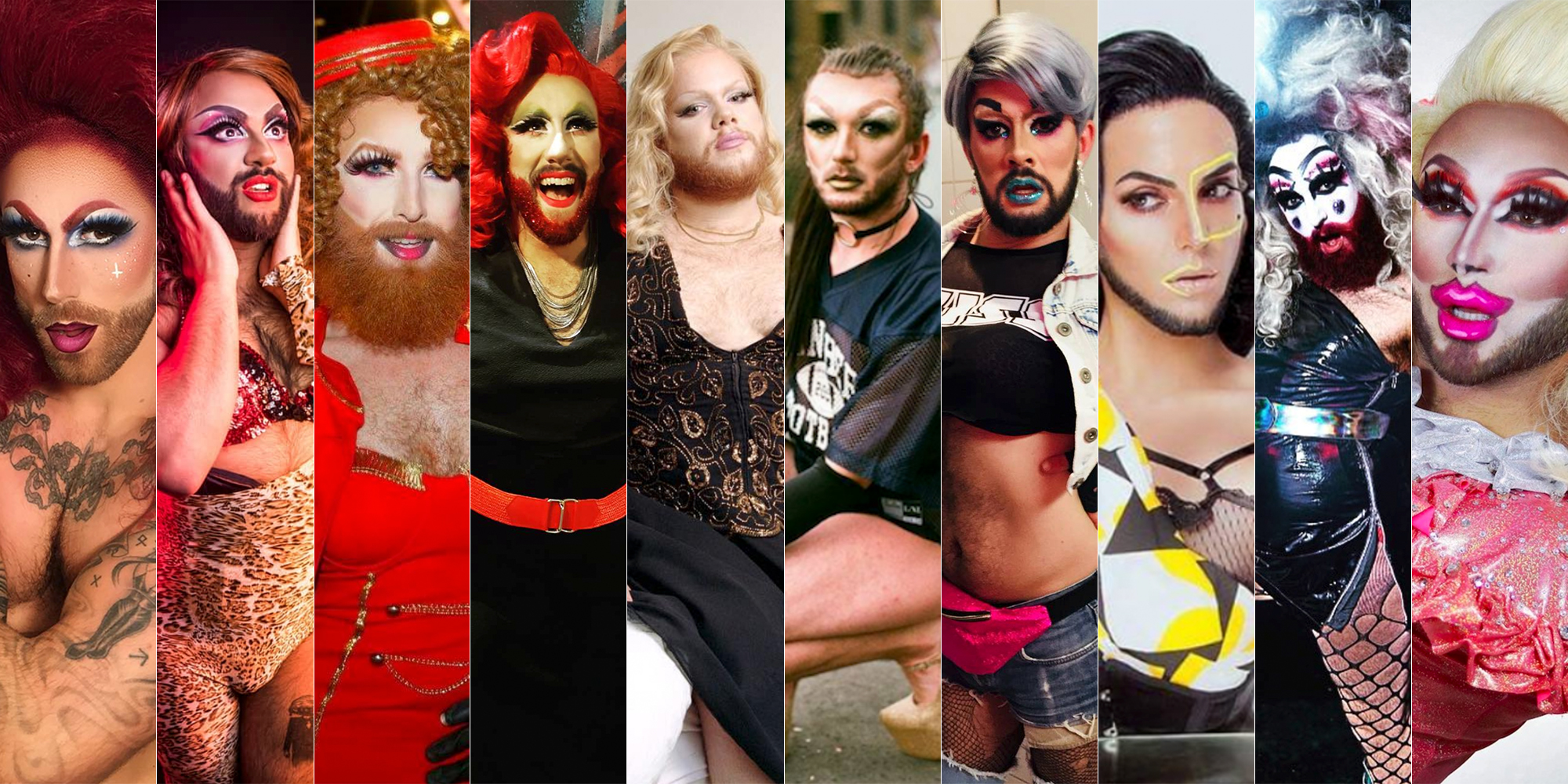 Drag de barba: as 10 drags barbudas mais babadeiras da Europa