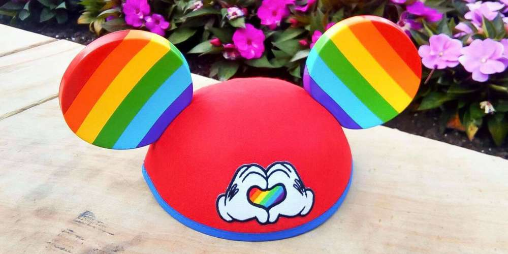 Disney Just Released These Rainbow-Colored Mickey Ears in Time for Pride Season