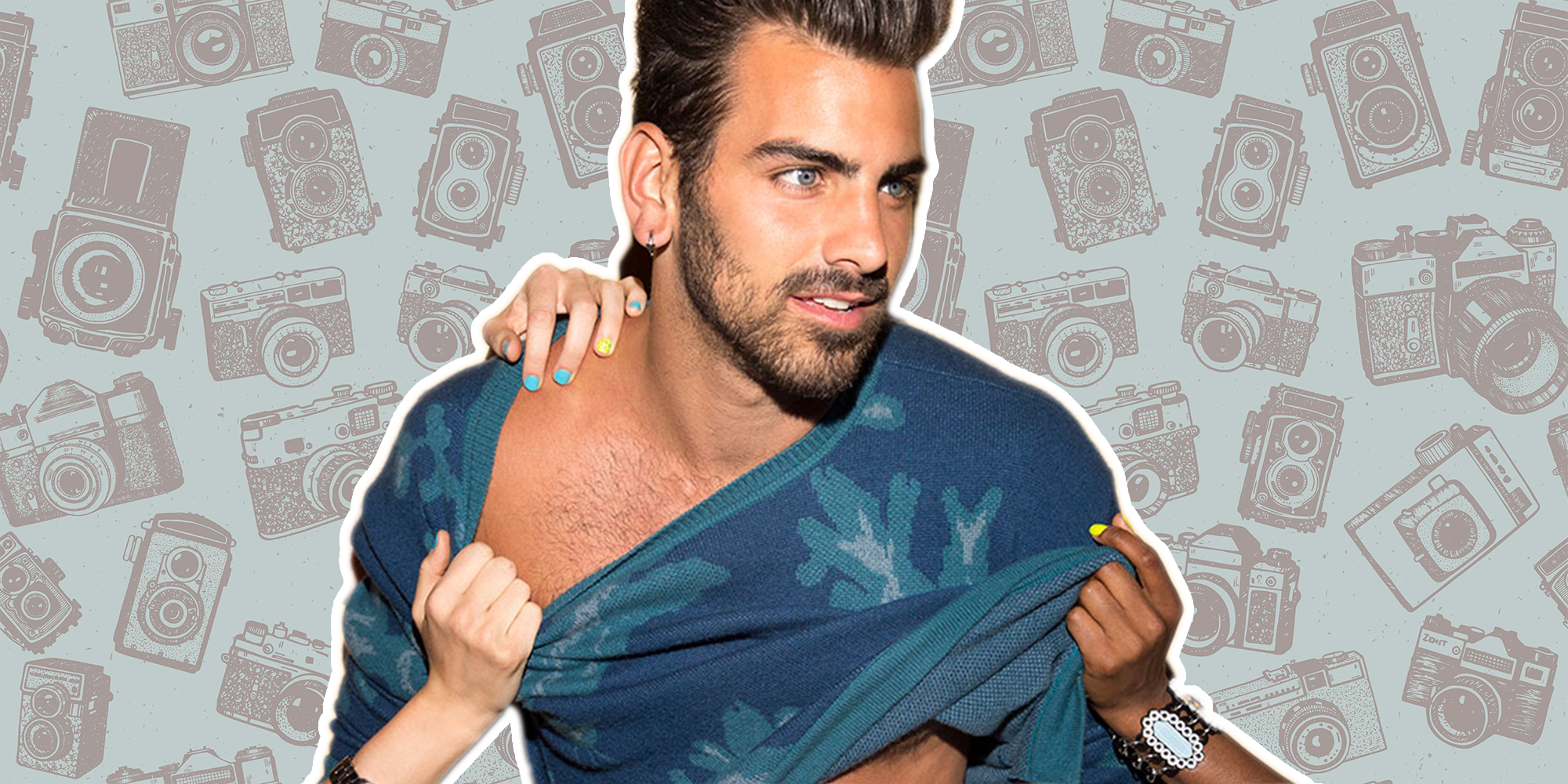 Here's What Happens When 'Top Model' Nyle DiMarco Catches You Sneaking Photos of Him