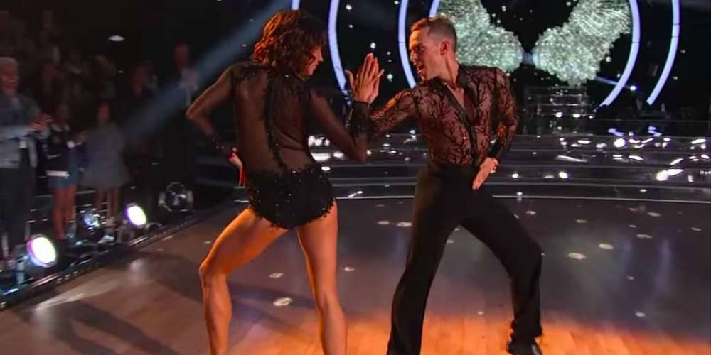 Adam Rippon's Queerness Was on Full Display During the Premiere of 'Dancing With the Stars: Athletes'