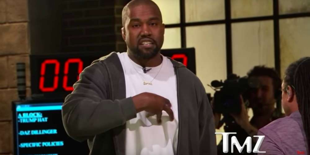 TMZ Staffer Goes Off on Kanye West Following His Controversial 'Slavery Was a Choice' Comment