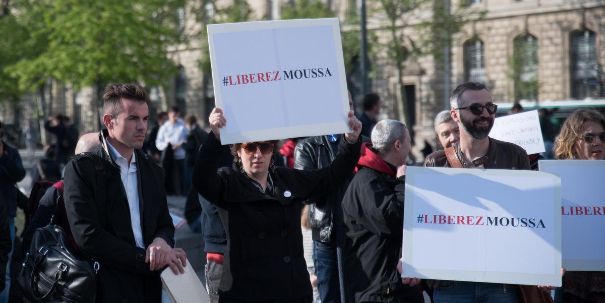 Moussa Camara obtient l'asile en France