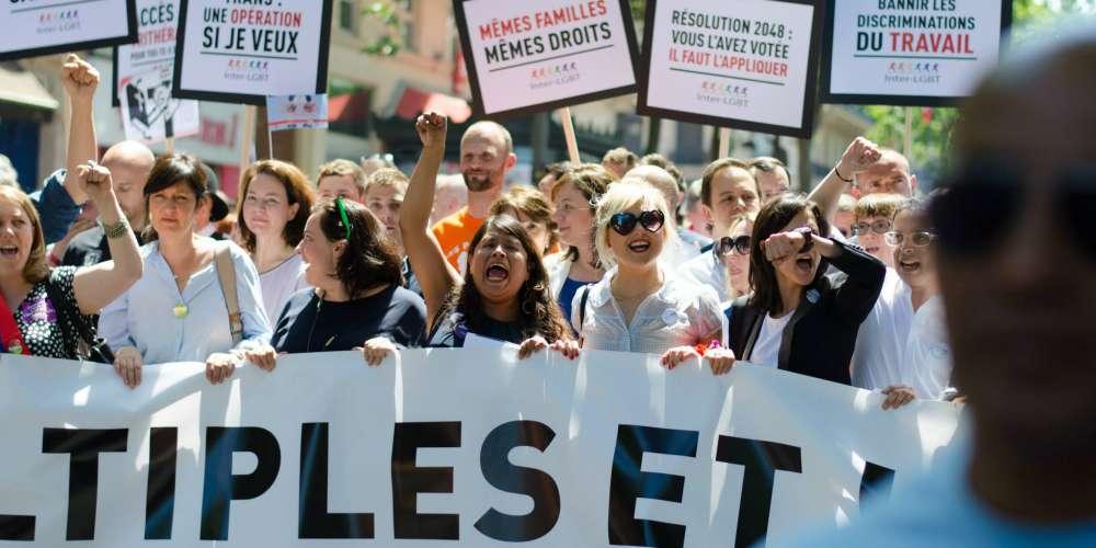 L'Inter-LGBT annonce une marche des fiertés LGBT à Paris le 26 juin