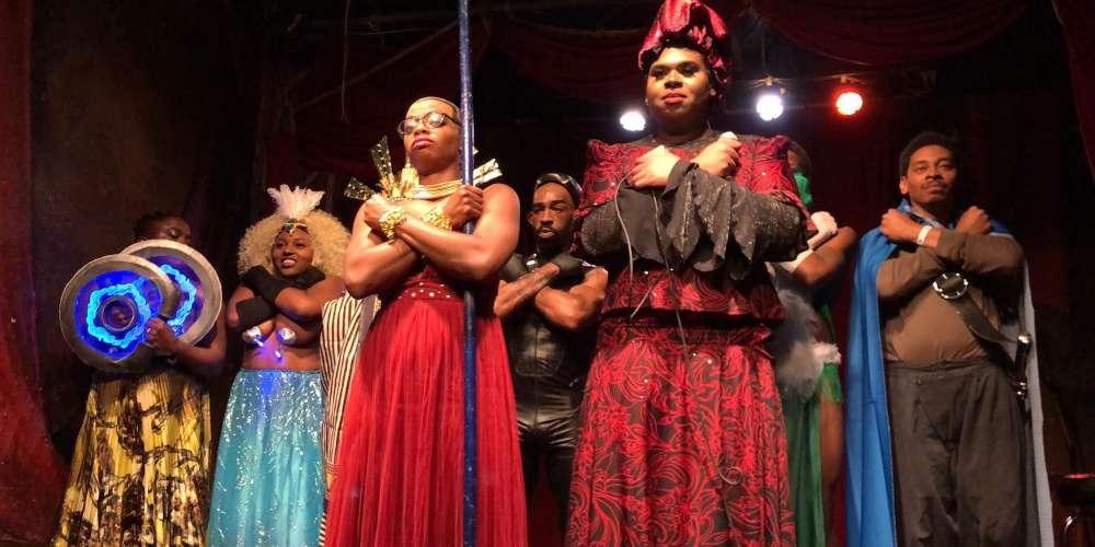 Wakanda Forever! We're Living for Philadelphia's 'Black Panther' Burlesque Show (Video)