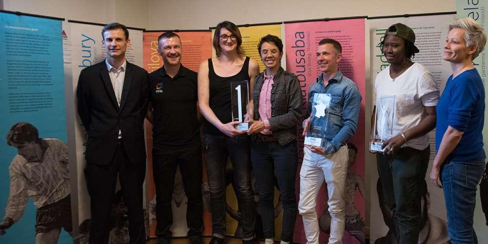 La FSGL a remis ses premiers trophées du sport LGBT