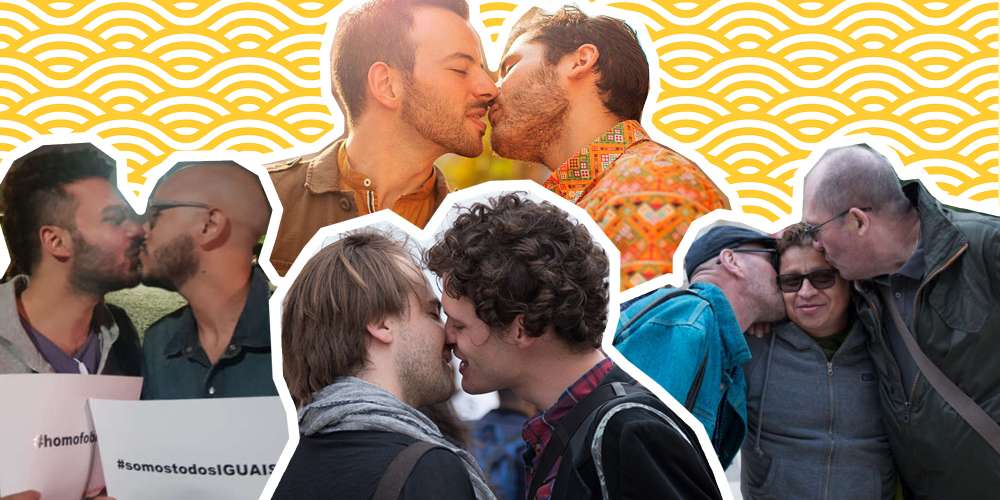 Exclusive: See Sexy Couples Pucker Up For Our Worldwide Kiss-In Protests