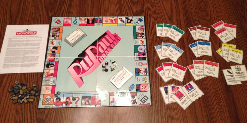 Sashay Away, Don't Pass Go: This 'Drag Race' Monopoly Board Is Everything