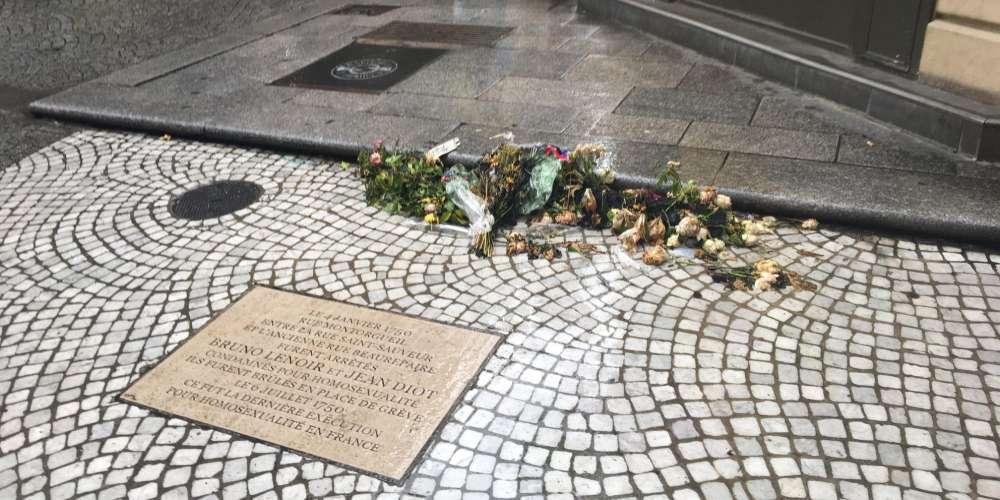 Paris: Vandalisme sur la plaque en hommage aux derniers condamnés à mort pour homosexualité