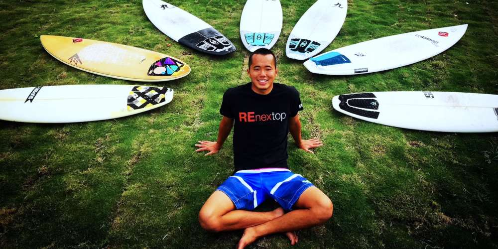 This Chinese Surfer Just Became China's First Openly Gay Athlete