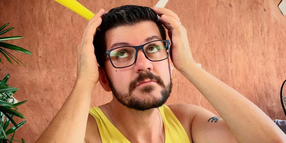 This Week's #HornetGuy, João, Is an Out and Proud Brazilian HIV Activist