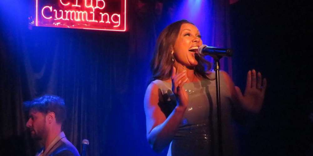 Vanessa Williams Gave a Surprise Performance of 'Colors of the Wind' at Club Cumming in NYC
