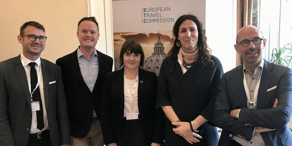 Hornet Presents at First European Tourism Commission's Educational Forum on LGBTQ Tourism