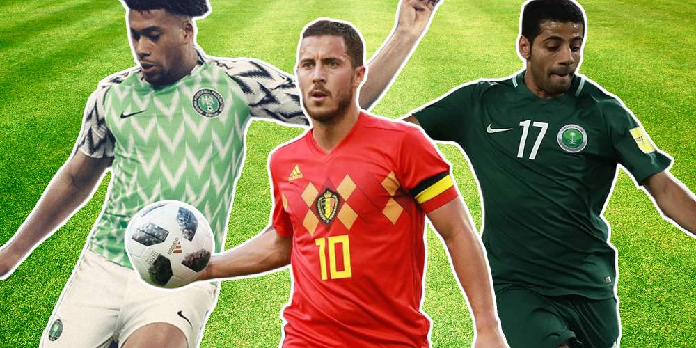 Our 10 Favorite World Cup Jerseys From This Year's Colorful Lineup