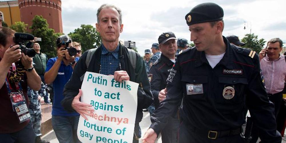 Russia's World Cup Started Today, and Already Gays Are Being Attacked and Arrested