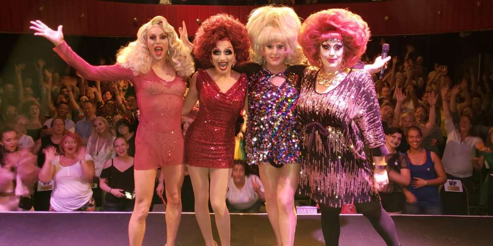 4 of the World's Drag Legends Are Banding Together for a Special Show, 'National Treasures'