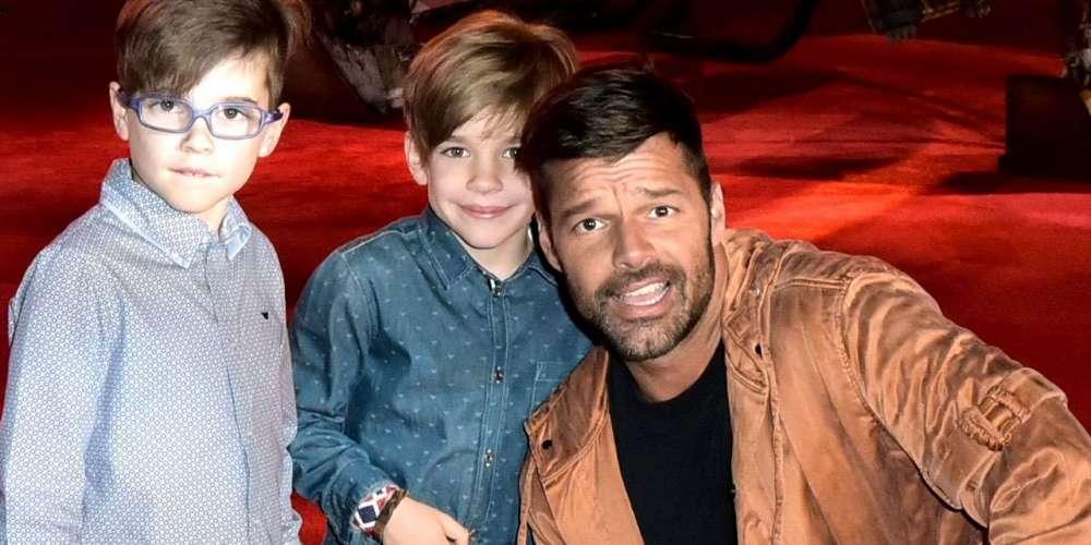Ricky Martin espère que ses deux fils seront gays