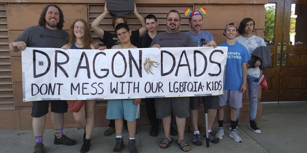 The Dragon Dads Are an Online Community Offering Support to Fathers of LGBTQ Kids