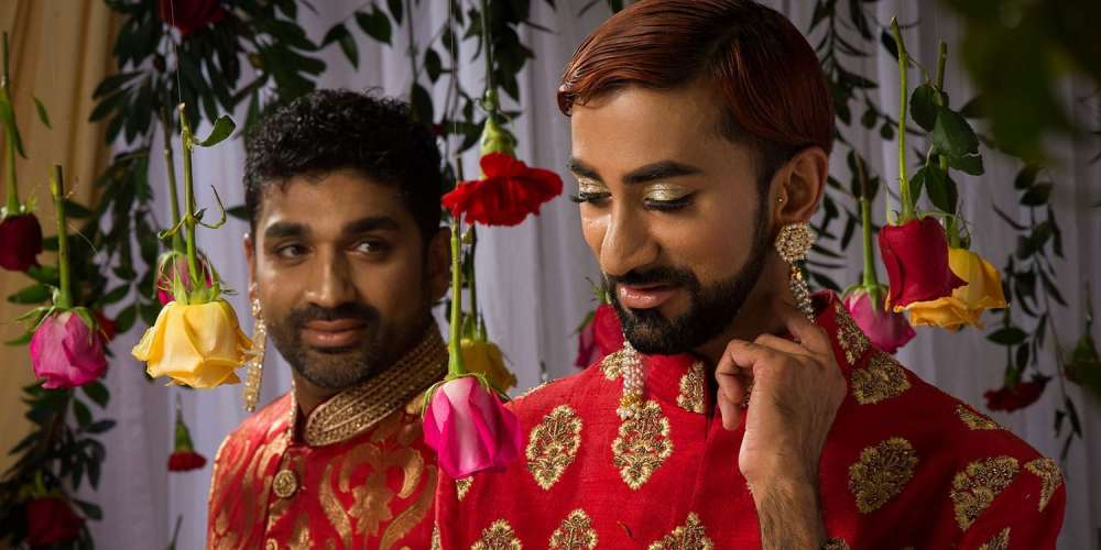 These Photos of a South Asian Gay Couple's Wedding Highlight the Region's Lack of LGBTQ Rights