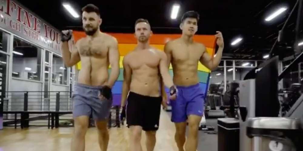 These Gay Bodybuilders Embrace Their Femme Side in #TeamKameron Instagram Video