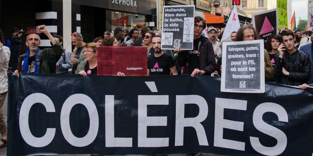 Marche des fiertés de Paris: Act Up mécontent d'être en dernier, l'Inter-LGBT lui répond