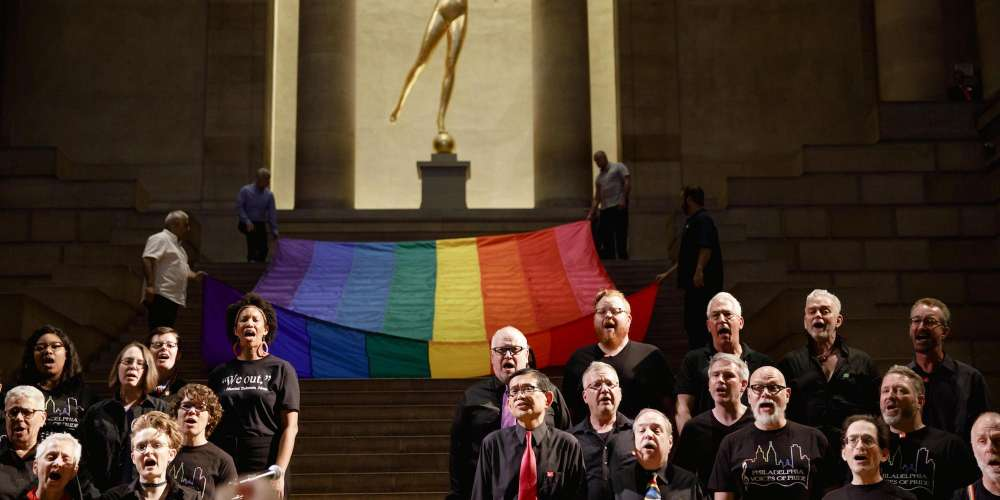 The Philadelphia Museum of Art Is Celebrating the 40th Anniversary of the Rainbow Flag