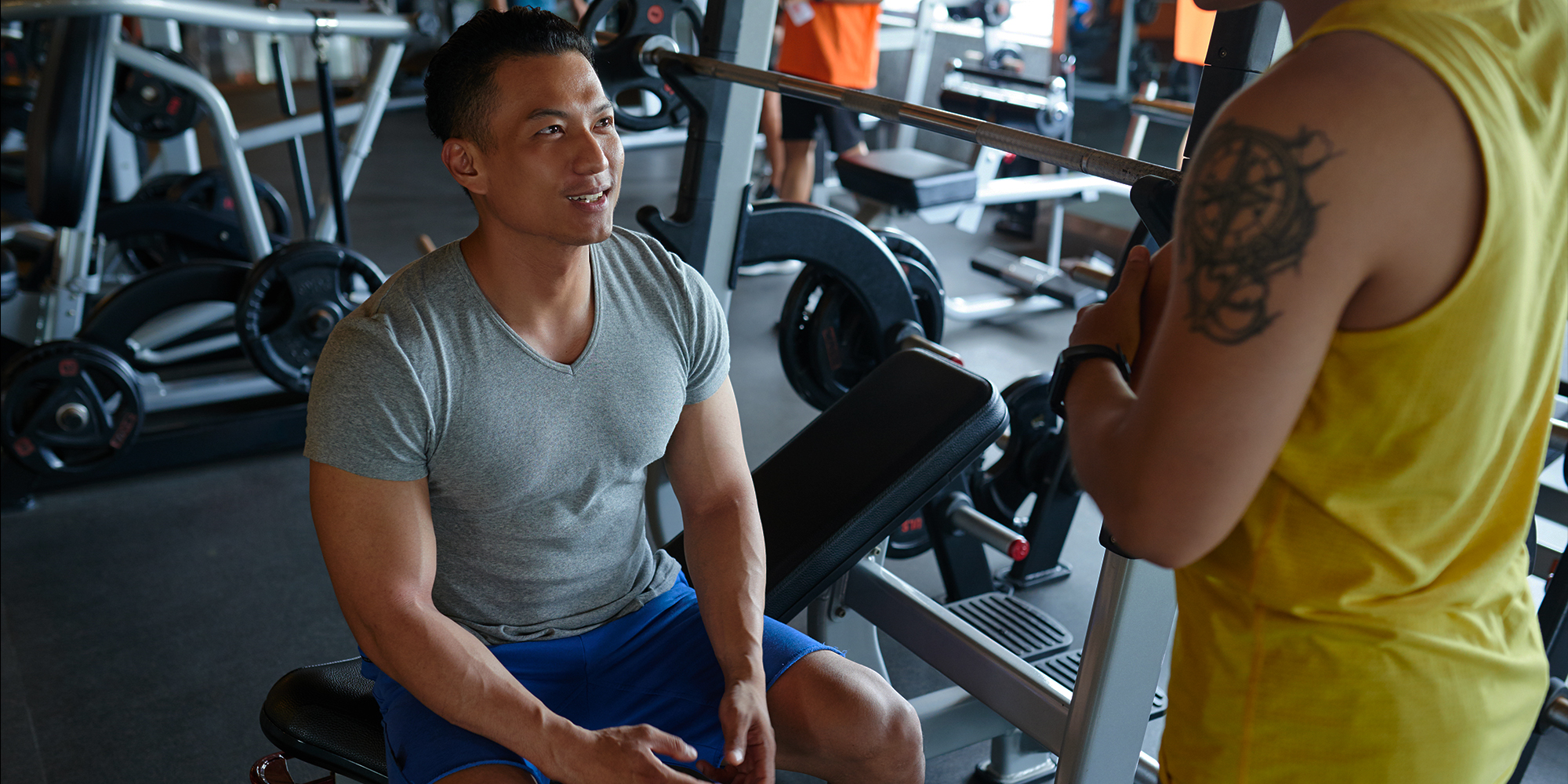 Here's How to Ask Out Your Gym Crush (Or Any Crush, Anywhere)