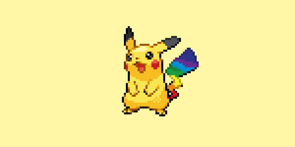 Artista desenha Pokémons versão Orgulho LGBTI e nós queremos pegar todos