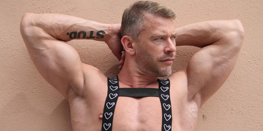Check Dan Savage's Hunky Hubby in Leather Gear at a WeHo Cruising Spot (Photos)